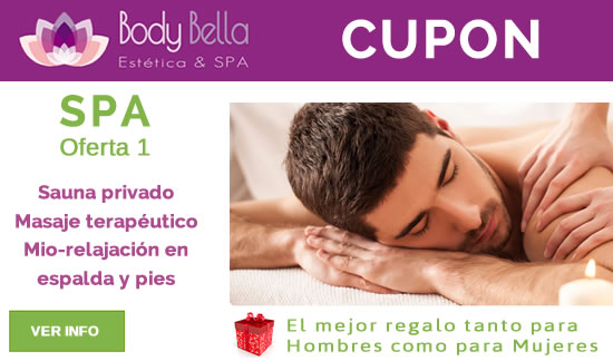 Regale 1 Cupón de SPA Anti-Stress